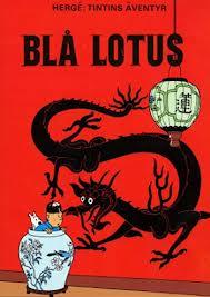 Tintin Blå lotus