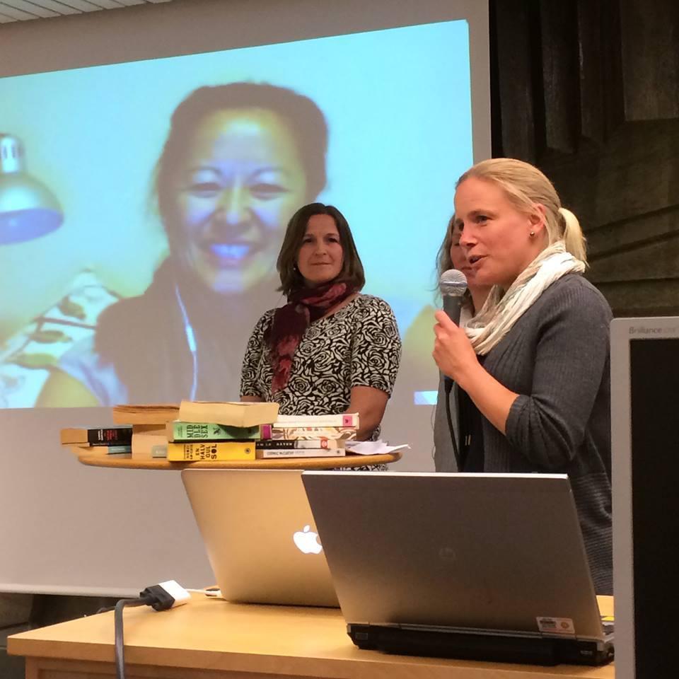 Kia ger boktips och Pia är med via Skype direkt från Australien.